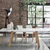 Giove wood dining table