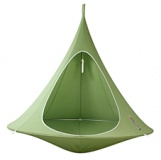 Cacoon green hanging chair