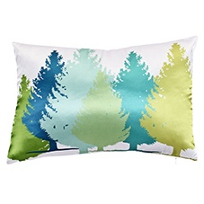 Forest emerald 30x45 cushion
