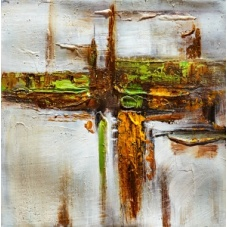 Abstract - W542 (30x30) painting