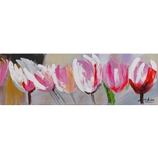 Flowers - Z207 (30x90) painting