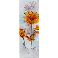 Flowers - Z345 (30x90) painting