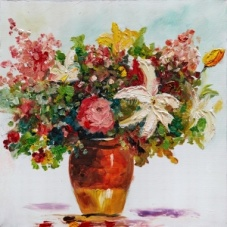 Flowers - Z348 (60x60) painting