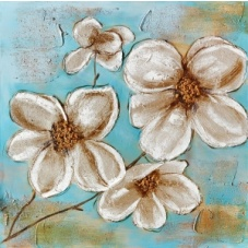 Flowers - Z356 (80x80) painting