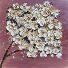 Flowers - Z352 (60x60) painting