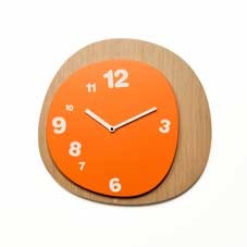 Woodie wall clock