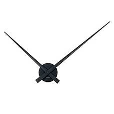 Little Big Time Ø90cm wall clock black