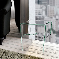 Proteo bedside dining table