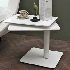 Twist bedside dining tables (2 pcs.)