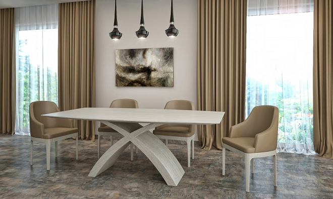X-table dining table