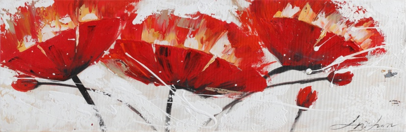 Flowers - Z112 (30x90) painting