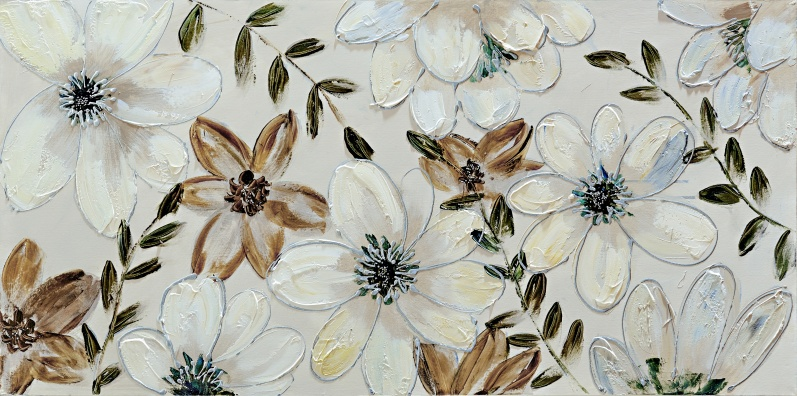 Flowers - Z357 (60x120) painting