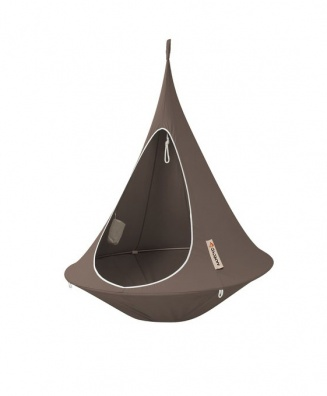 Cacoon taupe hanging chair