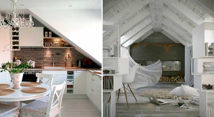 Praktikus lakberendezési tippek, tetőtéri lakások bebútorozására ...